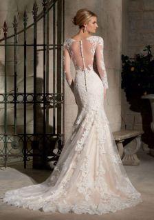 MoriLee 2725 Bridal Espalda
